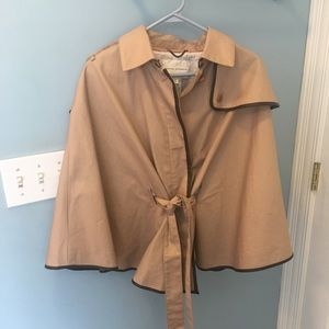 Banana Republic belted Poncho